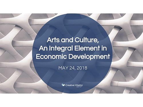 Arts and Culture, An Integral Element in Economic Development Webinar
