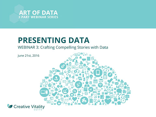 Presenting Data | Art of Data – Webinar 3