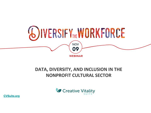 Data, Diversity, Inclusion in the Nonprofit Sector Webinar