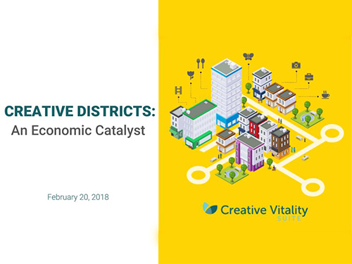 Creative Districts: An Economic Catalyst Webinar