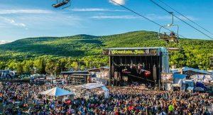 Hudson, New York outdoor concert