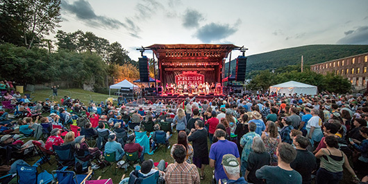 Pittsfield, MA outdoor concert