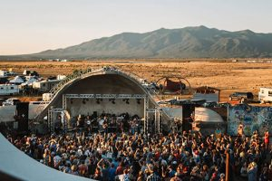 Outdoor Music Festival In Taos, New Mexico