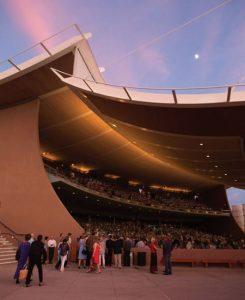 Santa Fe opera outside