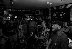Vineyard Haven concert at a local bar