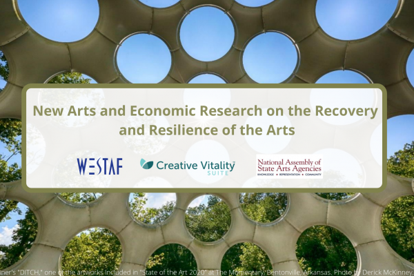 New Arts and Economic Research on the Recovery and Resilience of the Arts Featured Image of Public Art and Trees