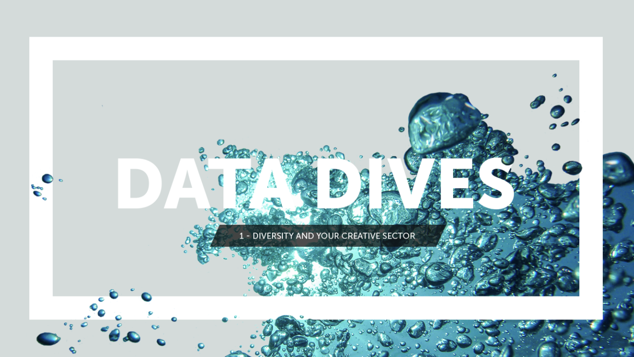 CVSuite Data Dives: Diversity and Your Creative Sector
