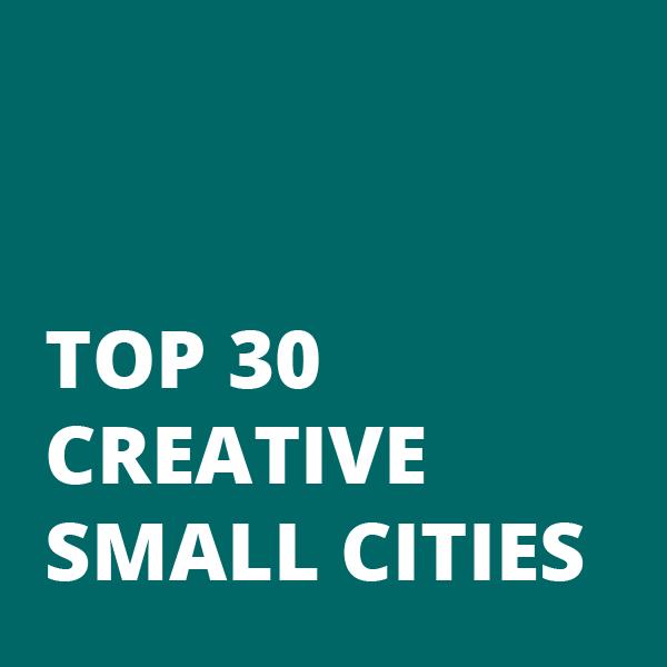 Top 30 Creative Small Cities Block