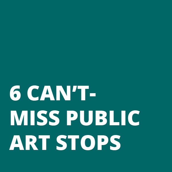 6 Can't-Miss Public Art Stops Block